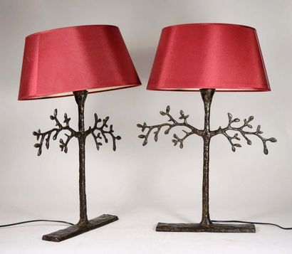 VILLA ALLYS  Paire de lampes de table, à...