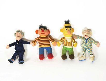 Quatre muppets