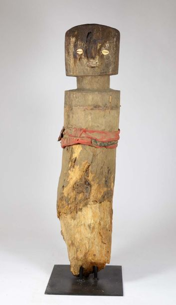 Poteau de cérémonie vaudou