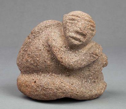 Statue destinée probablement à une offrande...