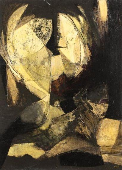 Hajime KATO (1925-2000)  Sans titre, 1959...