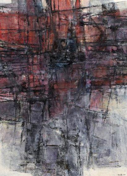 Hajime KATO (1925-2000)  Composition, 1961...