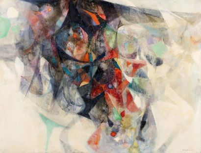 Hajime KATO (1925-2000)  Composition, 1965...