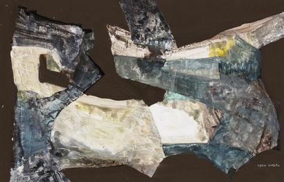 Hajime KATO (1925-2000)  Composition, 1960...
