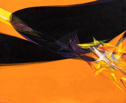 Hajime KATO (1925-2000)  Reflets II, 1973...