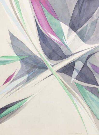 Hajime KATO (1925-2000)  Composition 1982...