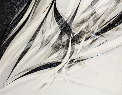 Hajime KATO (1925-2000)  Zéphir monochrome,...