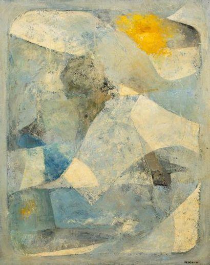 Hajime KATO (1925-2000)  Sans titre 1958-1959...