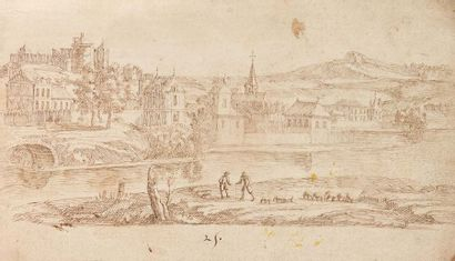 Attribué à Gabriel PERELLE (Vernon/Seine...