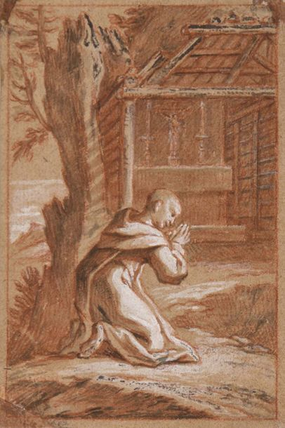 Alexandre UBELESQUI (Paris 1649 - 1718)  saint...