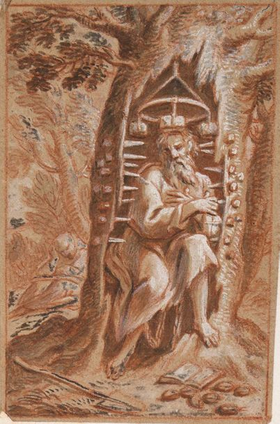 Alexandre UBELESQUI (Paris 1649 -1718) saint...