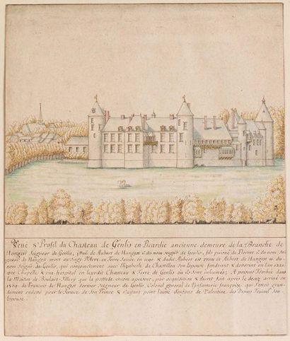Attribué à Louis BOUDAN (actif 1687/1709)...