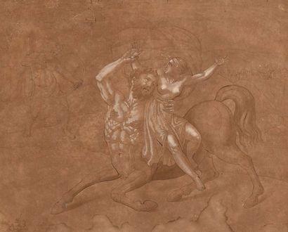 Conrad METZ (1749 - 1827)  L'enlèvement de...