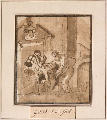 Ecole italienne du XVIIème siècle  Translation...