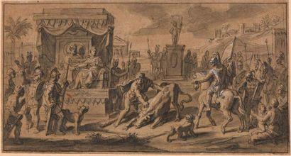 François VERDIER (Paris 1651 - 1730)  Hercule...