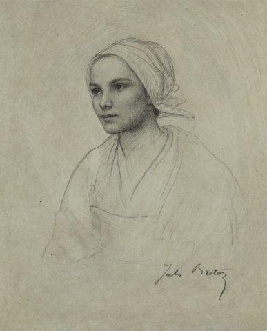 Jules BRETON (Courrières 1827- Paris 1906) <br/>