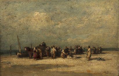Auguste Marie BOULARD (1825 – 1897) Le retour...