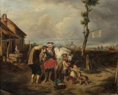 Eugène Le POITTEVIN (Paris 1806 - 1870) Le...