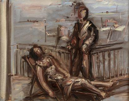 Jean HELION (Couterne 1904 - Paris 1987)...