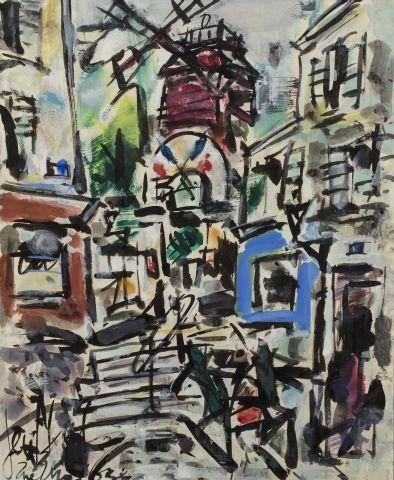 Eugène Paul dit GEN PAUL (Paris 1895 - 1975)...