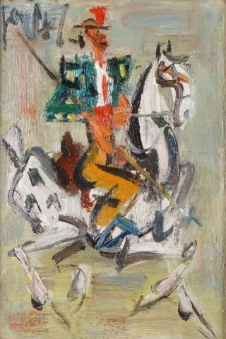GEN PAUL (Paris 1895- 1975) Le Picador Huile...