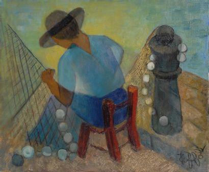 Louis TOFFOLI (Trieste 1907 - Paris 1999)...
