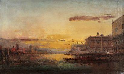 Henri DUVIEUX (Paris 1855 - 1920) Venise...