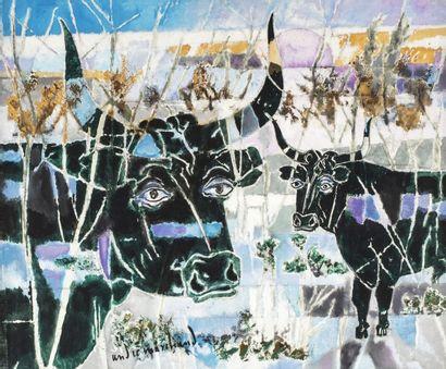 André MARCHAND (Aix en Provence 1907 - 1997)...