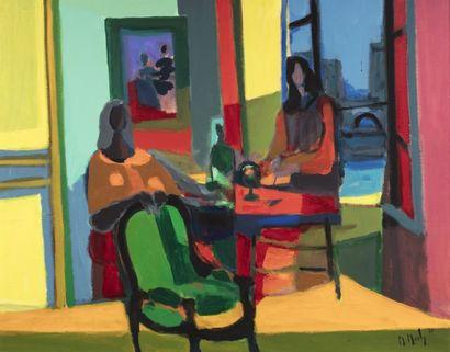 Marcel MOULY (Paris 1918 - 2008) L'intérieur...