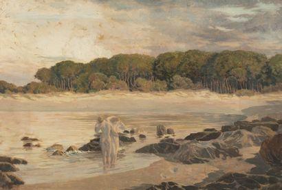Emile René MENARD (Paris 1862 - 1930) Les...