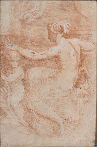 Ecole italienne du XVIIème siècle Vénus et...