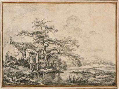 François BOUCHER (Paris 1703 – 1770) Paysage...