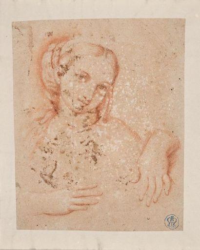 Ecole italienne du XVIIème siècle Portrait...