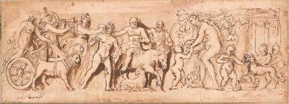 Ecole italienne du XVIIème siècle L'éducation...