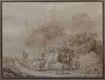 JJean Baptiste LE PRINCE (Metz 1734 – Lagny-sur-Marne...