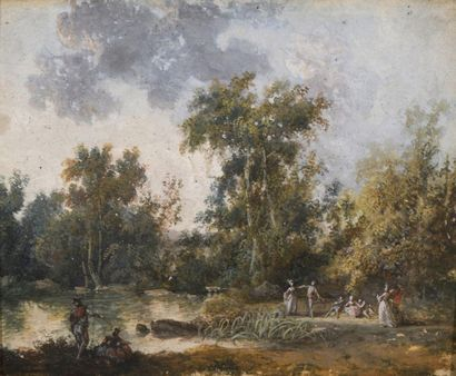 Attribué à Louis BELLANGER (1736 – 1816)...