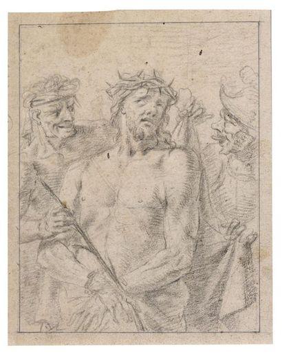 Ecole italienne du XVIIème siècle Le Christ...