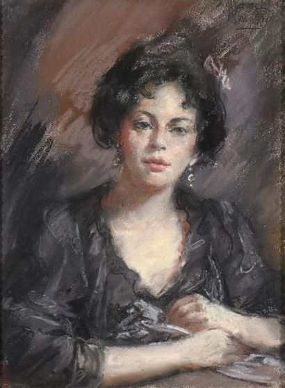 Isaac ISRAELS (Amsterdam 1865 – La Haye 1934)...