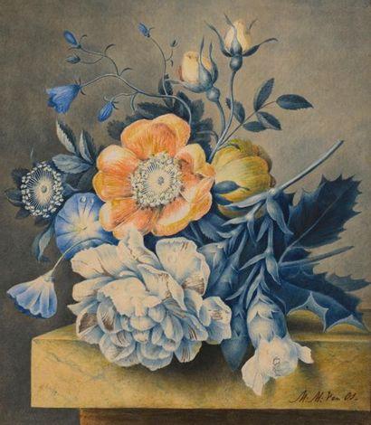 Maria Magrita Van OS (La Haye 1780 – 1862)...