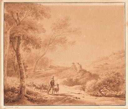 Claude THIENON (Paris 1772 – 1846) Pastorale...