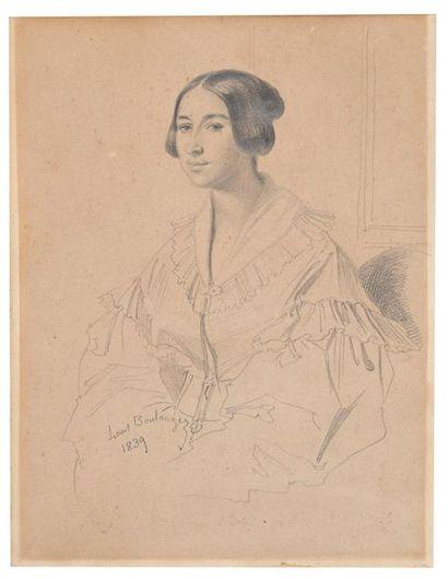 Louis BOULANGER (Verceuil 1806-Dijon 1867)...