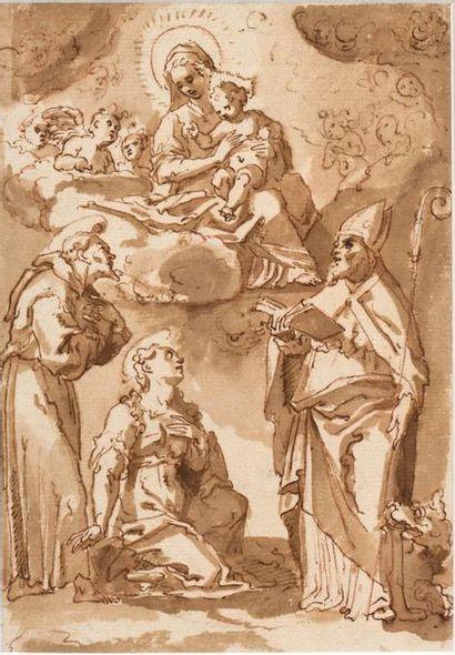 Attribué à Rafaello VANNI (Sienne 1587-1678)...