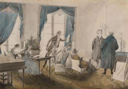 Ecole française du début du XIXème siècle...