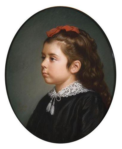 Henri HESSE (Paris 1881 - 1849) Portrait...