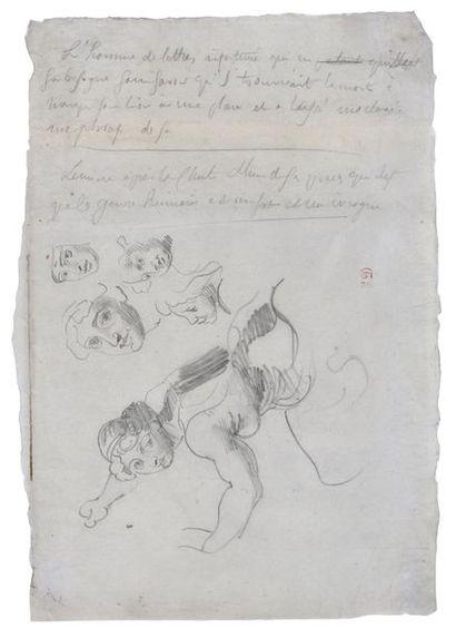 Attribué à Ferdinand Victor Eugène DELACROIX...