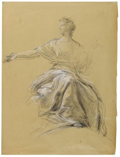 Isidore PILS (Paris 1813 - Douarnenez 1875)...