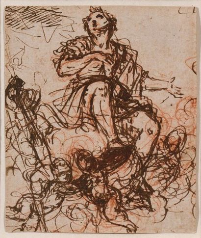 Attribué à Giuseppe PASSERI (Rome 1654 -...