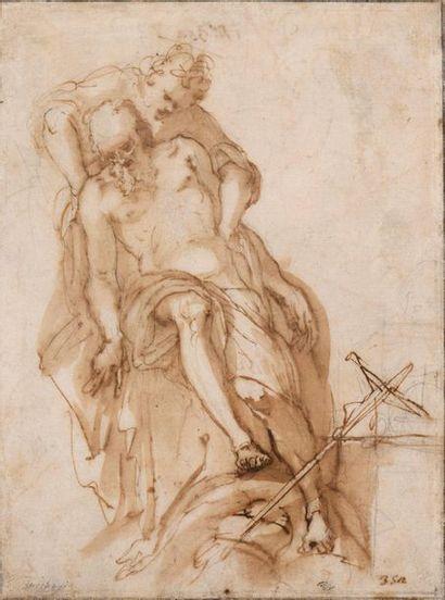 Filippo BELLINI (Urbino 1550- 1604) Saint...
