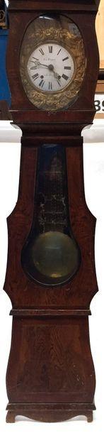 SUR DESIGNATION  Pendule de parquet en bois...