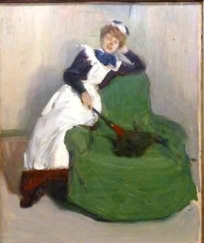 Auguste Théodore DESH (1877-1924)  Le repos...
